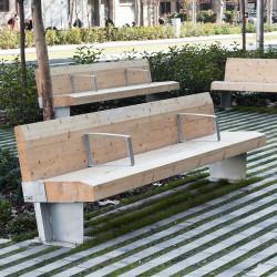 Sumo - banc en bois