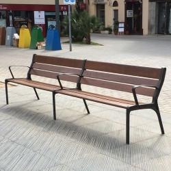 Tao - Sitzbank aus Holz