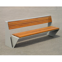 Escofet Loop - banc métal - bois