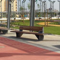 Escofet Ban - Parkbank aus Holz/ Metall