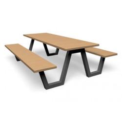 Picnic Wood - combinaison banc / table