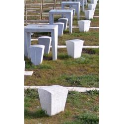 Canal - table en béton