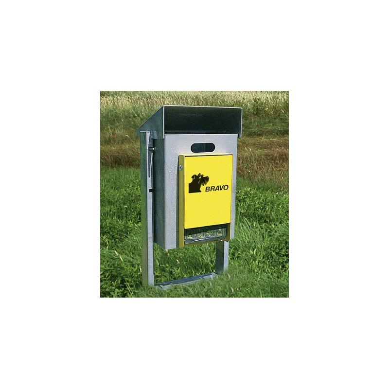 BRAVO Kirn 50E - distributeur avec réceptacle à ordures