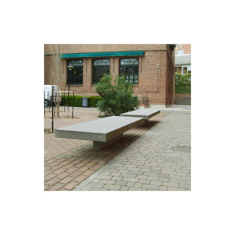 Canet - Sitzbank aus Beton