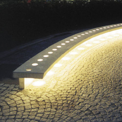 Villette - banc en béton