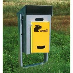 BRAVO Kirn 50E - Smily Dispenser mit Abfallbehälter