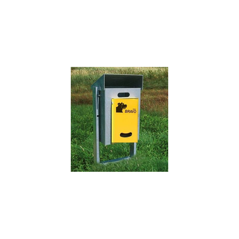 BRAVO Kirn 50E - Smily distributeur avec réceptacle à ordures