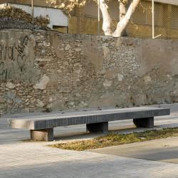 Bancalosa - Hockerbank aus Beton