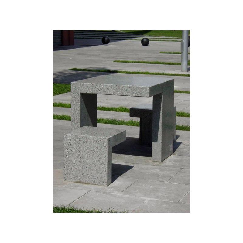 Prat - Hocker aus Beton