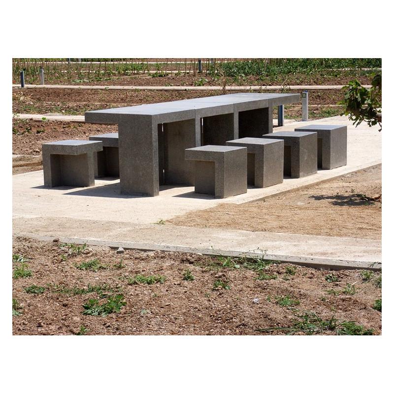 Prat - table en béton