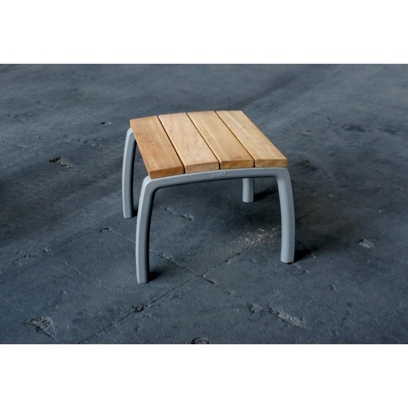 Escofet Kiwi - tabouret en aluminium et en bois