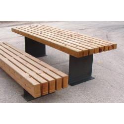Escofet Tramet - Serie - Tisch aus Holz/ Metall