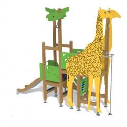 Giraffe Tower - Klettergerät mit Rutsche
