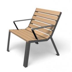 Easy - Stuhl mit Armlehnen