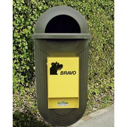 BRAVO Street - Dispenser mit Abfallbehälter, grün