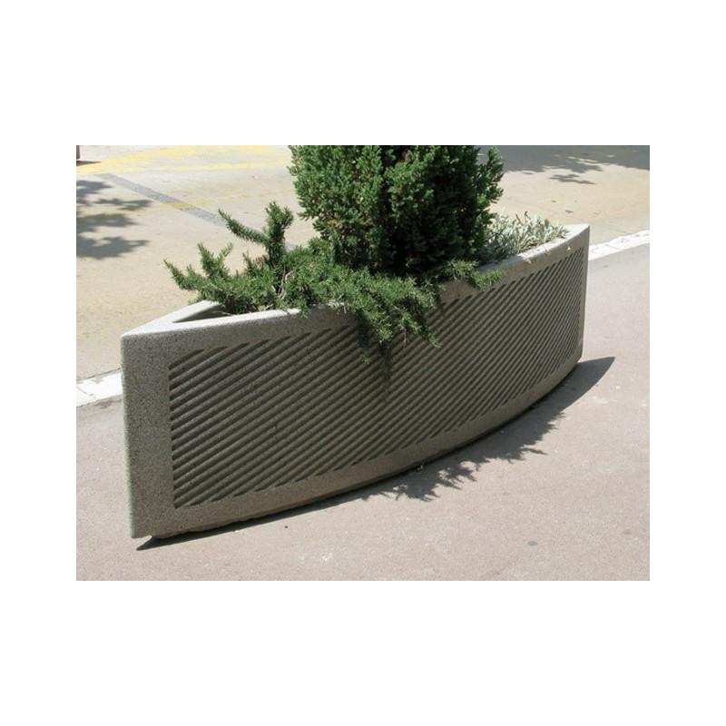 Test-e -Pflanzgefäss aus Beton