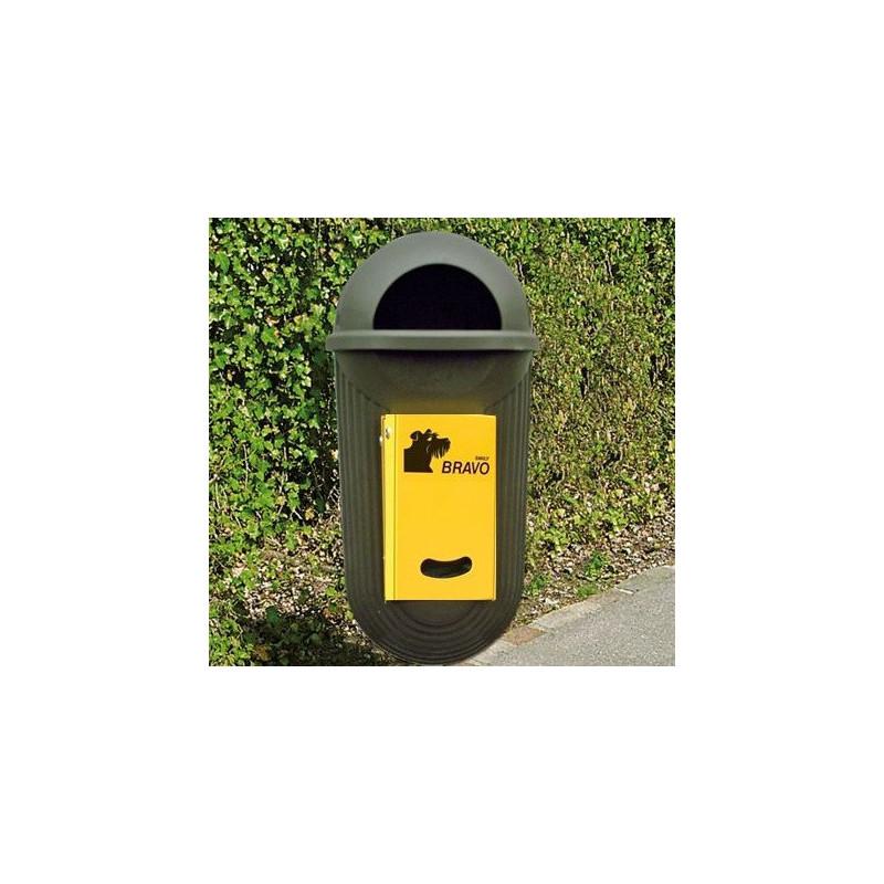 BRAVO Street - Smily Dispenser mit Abfallbehälter, grün