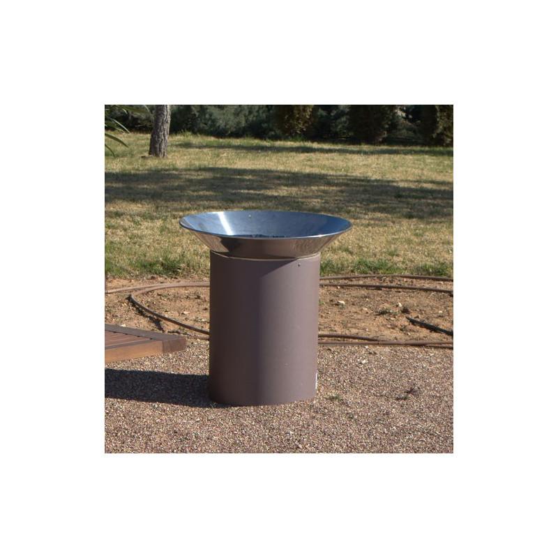 Paperegena - Abfallbehälter aus Stahl/ Edelstahl