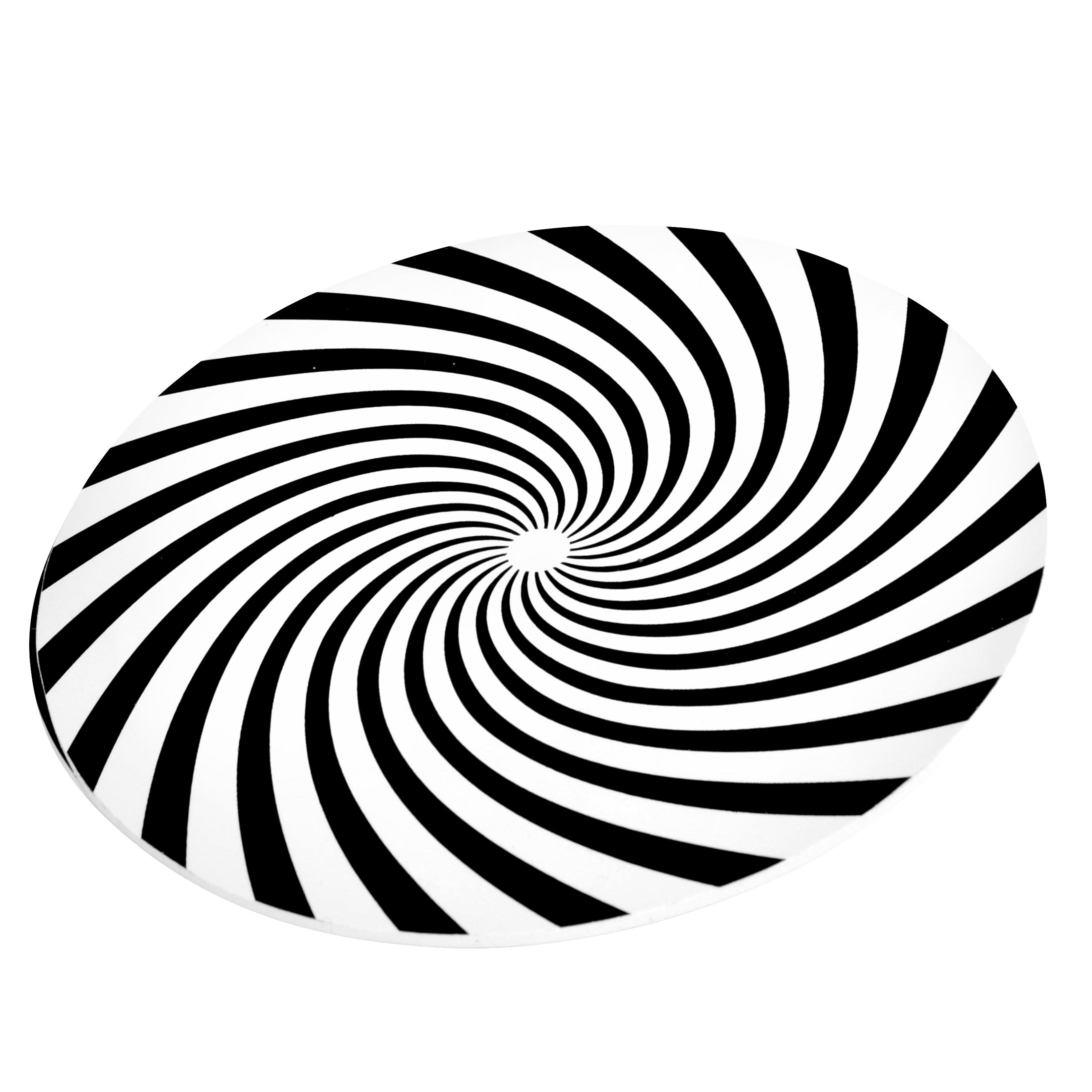 Spielgerät Optische Illusion von modo für Spielplätze und Experimental-Spiele entlang von Wegen und Pfaden