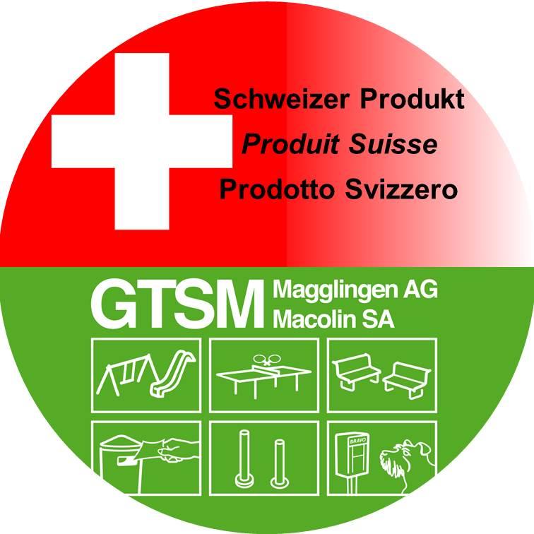 Schweizer Produkt von GTSM Magglingen