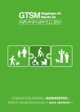 Banc intergénérationnel / Banc pour Seniors, pour parents et familles, personnes âgées / seniors, personnes ayant des difficultés à marcher / handicapés, utilisateurs de fauteuils roulants / chaise roulante et passants