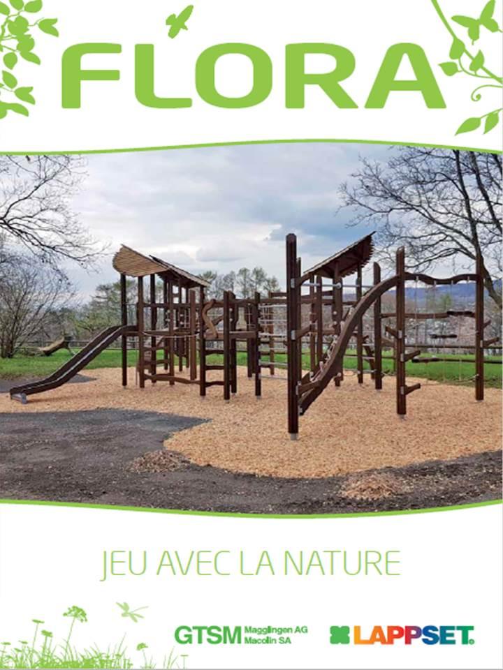 Flora Engins de jeux en bosi au naturel pour places de jeux naturels (1.3MB)