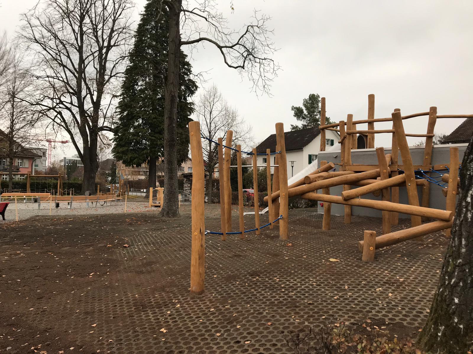 Spielplatz erstellt